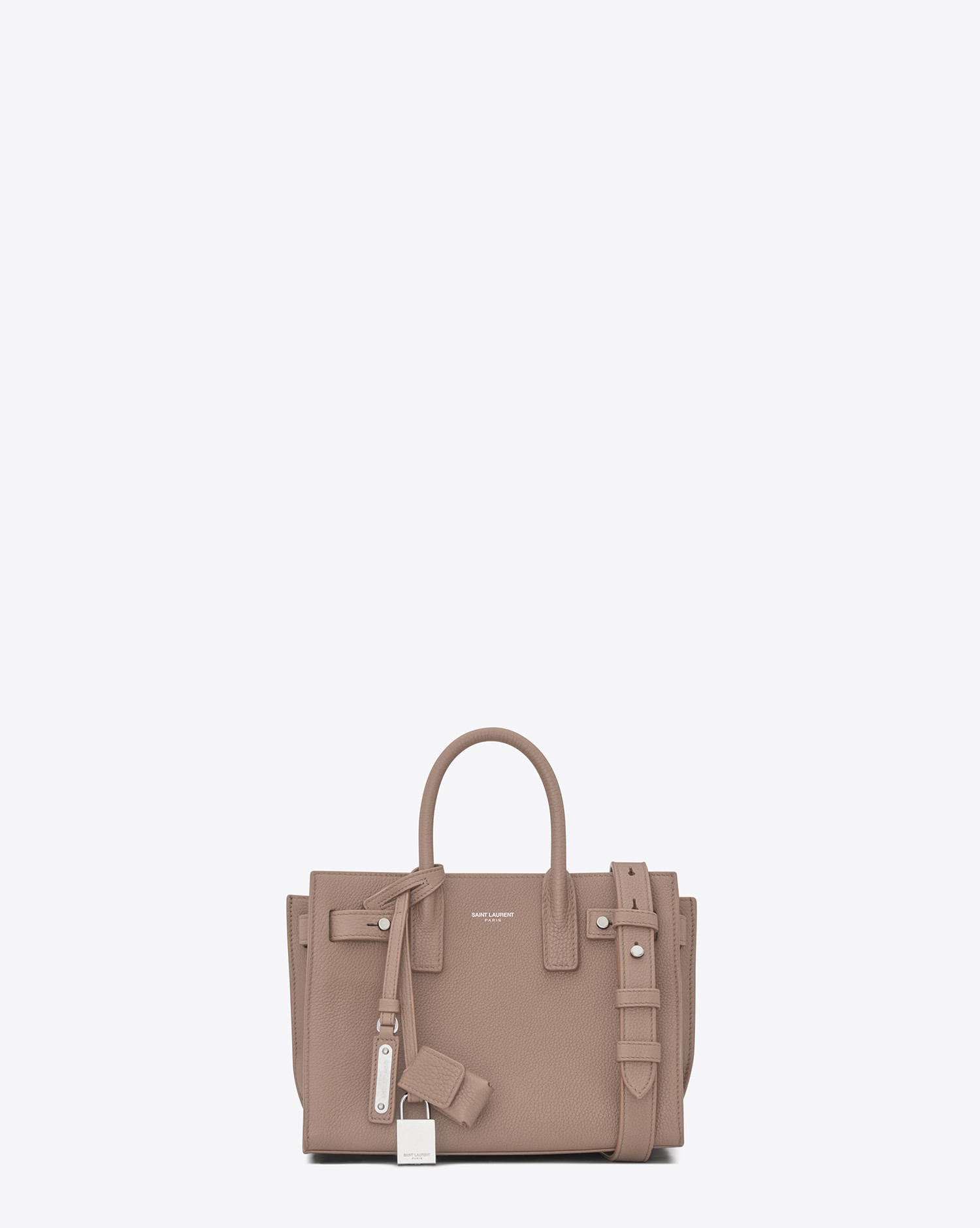 YSL Nano SAC DE JOUR Souple Bag in Rose