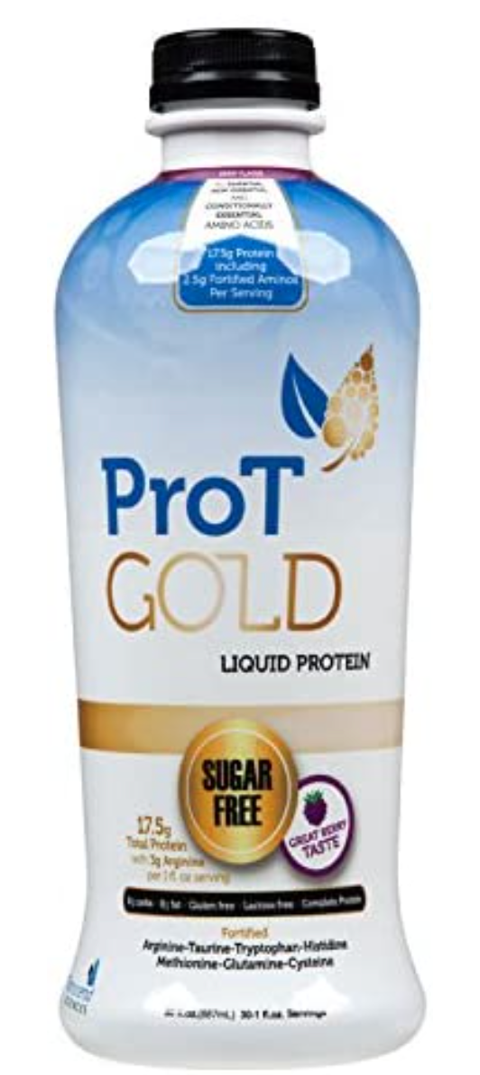 ProT GOLD Berry Sugar Free Liquid Protein Shot - 30oz Anti Aging
