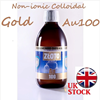 300ml GOLD Colloidal Non-ionic Au100 Nano