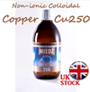 300ml COPPER Colloidal Non-ionic Cu250 Nano