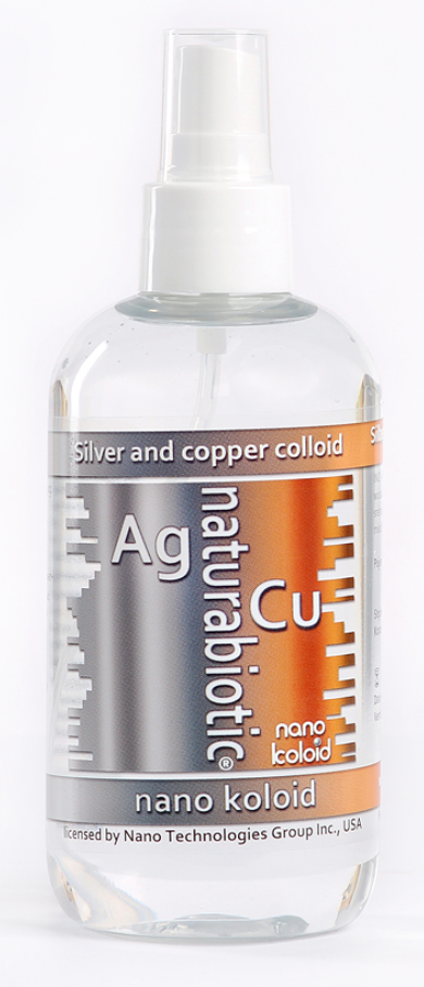 2 x Colloidal Copper 25ppm 500ml
