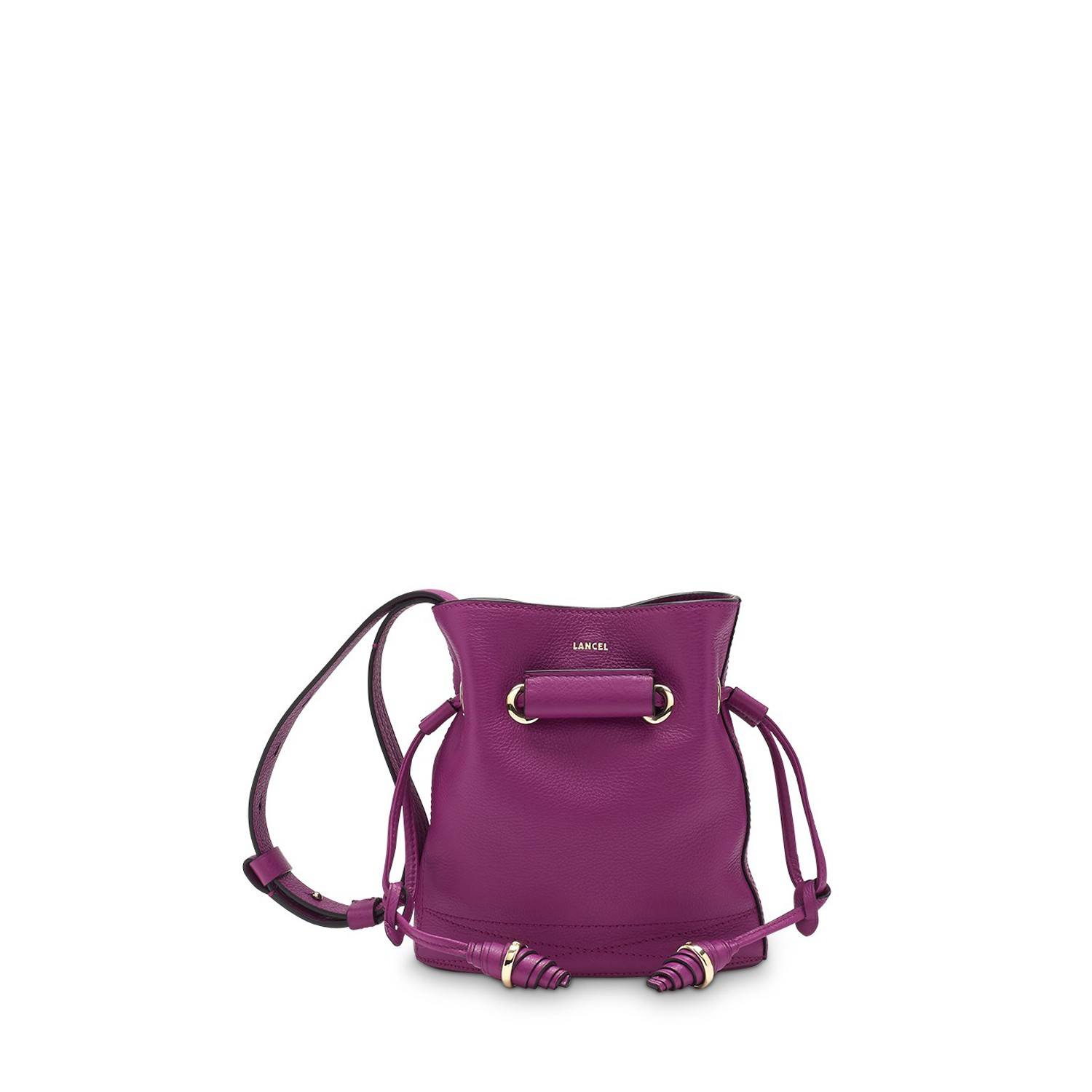Le Huit de Lancel Bucket bag Dahlia