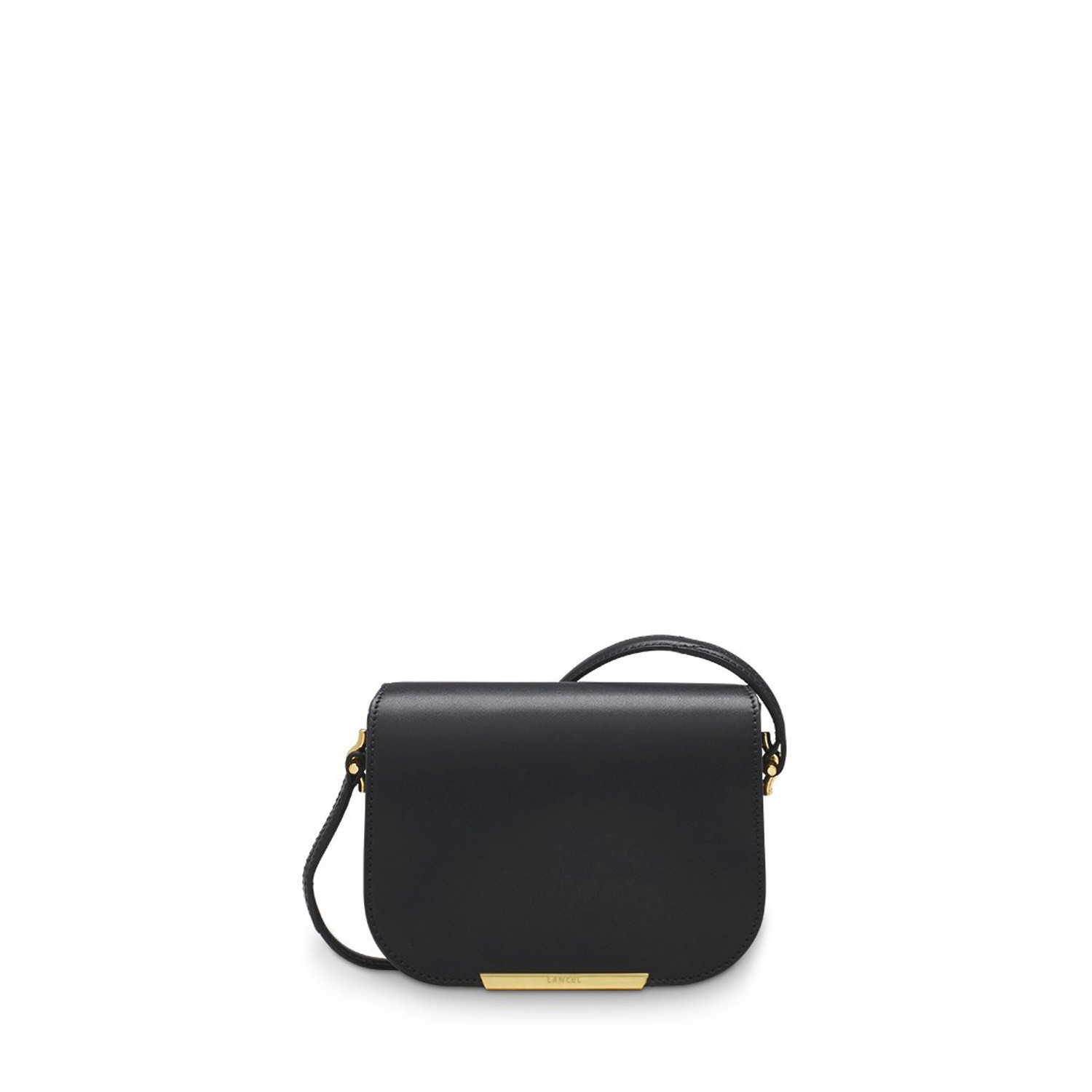 Bianca de Lancel Nano Saddle Bag Black